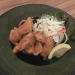 地菜和食 庵 - ヤゲンのスパイシー唐揚げ