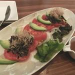 地菜和食 庵 - アボガドとトマトの和風サラダ