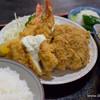 ハチロー - 料理写真:ミックスフライ定食【2015年6月】