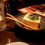 うまいもん処 竈 - 料理写真:黒石奥瀬豆腐・・・なんだこの美味い豆腐は・・・ショック・・・