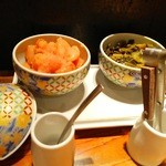 やまや コレド室町店 - 明太子&辛子高菜が食べ放題