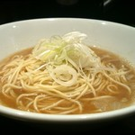 自家製麺 伊藤 - [2回目]比内鶏そば 小(600円)