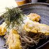 萩の茶屋 - 料理写真:「鶏天おろし蕎麦(880円)」やわらかい日南鶏のてんぷらが絶品