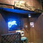 ビストロ  サンダンスクラブ - 入口です