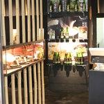 萩の茶屋 - 蕎麦屋のこだわり「そば焼酎のそば湯割り」
