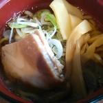 ラーブル - 醤油ラーメン