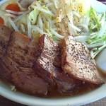 らーめん 浜笑 - 浜笑富士山ラーメン肉ダブル945円