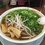 たかばしラーメン - 料理写真:たかばしラーメン(もやし・ねぎ多め)