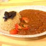 オモヤキッチン - 玄米ご飯とカレー★