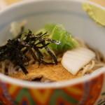 どんきゅう - ミニ蕎麦