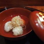 徳 うち山 - 鱧とトマトのお椀