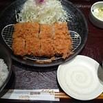 とんかつ和幸 - ひれかつご飯(¥1,296)