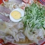 39614596 - (2015.7.4) 冷麺 ワンタン入 大 1,000円