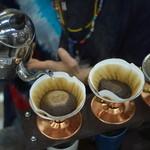 レインボー カフェ - ハンドドリップで一杯ずつ丁寧にお淹れします