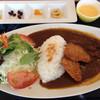 三重フェニックスゴルフコース レストラン - 料理写真:ジャワ風ヒレカツカレー