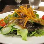 クチーナ・イタリアーナ・ピアチェーレ - (前菜のサラダ)