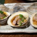 えんざ - 本日のおすすめ「焼き蛤」3個¥400は信じられないCP(2015.Jul.)