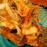 九州 熱中屋 - さばの竜田揚げ 夏の香味野菜盛り