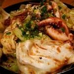 九州 熱中屋 - 五島イカとキャベツの肝醤油焼き