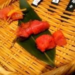九州 熱中屋 - 博多明太子テイスティング3種