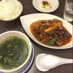 中国料理 伊部 - 本日の日替わり                             麻婆ナス                             1200円