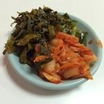 らーめん恵比寿 - キムチ&ニラ&高菜