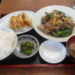 東山食堂 - 料理写真:注文した品々