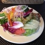 f-cafe' - 前菜サラダ