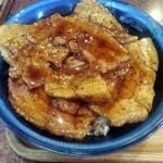 つべつ西洋軒 - バラ豚丼1