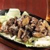彩丸 - 料理写真:地鶏タマシャモの炭火焼