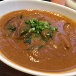 39621335 - 豚肉とつるむらさきの南インド風辛口カリー