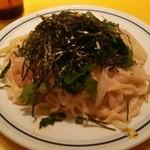 関谷スパゲティ - たらこクリーム