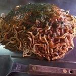ゆりちゃん - カレーお好み焼き