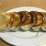 麺龍 - 餃子¥400だったような
