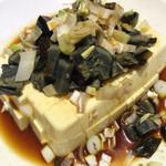 大豊収 - ピータン豆腐480円