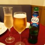 シャテール - フランスビール&桃のカクテル