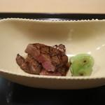 銀座一期 - 松阪牛の網み焼き
