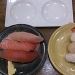 寿司虎 鹿屋本店 - しょう油は2種類