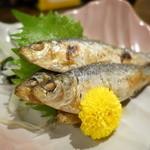 ザ・居酒屋 どどど - 料理写真:焼きママカリの酢の物