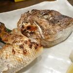 ザ・居酒屋 どどど - 本日のカマ塩焼き(鯛)