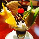 凡凡軒 - チョコレートパフェ