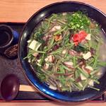 さの屋 - 山菜そば(大盛り)