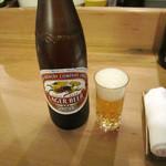 萬常 - ビール大瓶 税込700円