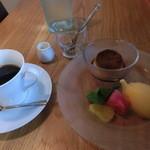 ステラート - デザートとコーヒー。