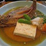 嵯峨 - カレイのおろし煮