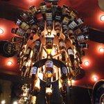 GLASS DANCE - ビール瓶の照明