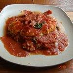 王様のレストラン - 無農薬野菜のトマトオムライス¥900