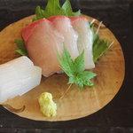 和食茶房 風の彩 - お造り2点盛り(風)