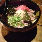 モテなし - 馬肉炙り丼