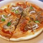 ダイナー - キノコとマッシュルームのピザ